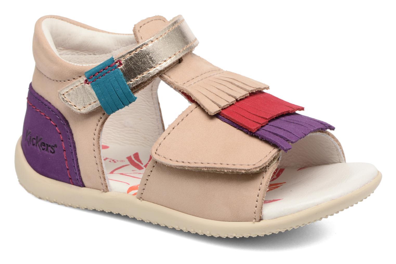 Sandalen Kickers Bihilana Beige detail