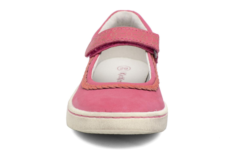 Ballerines Kickers Lydie Rose vue portées chaussures