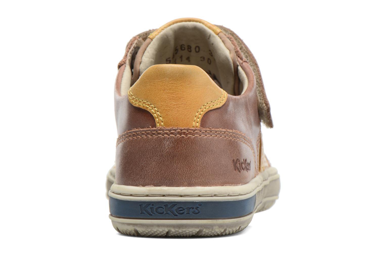 Sneakers Kickers Igorlow Beige Se fra højre