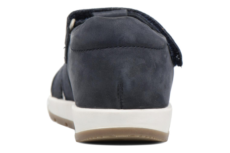 Sandalen Kickers Solaz blau ansicht von rechts