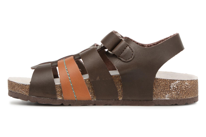 Sandalen Kickers Magiteam braun ansicht von vorne