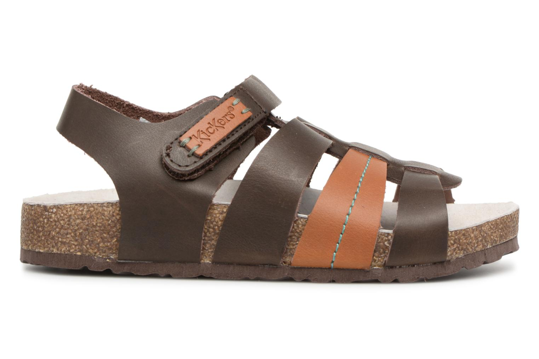 Sandalen Kickers Magiteam braun ansicht von hinten