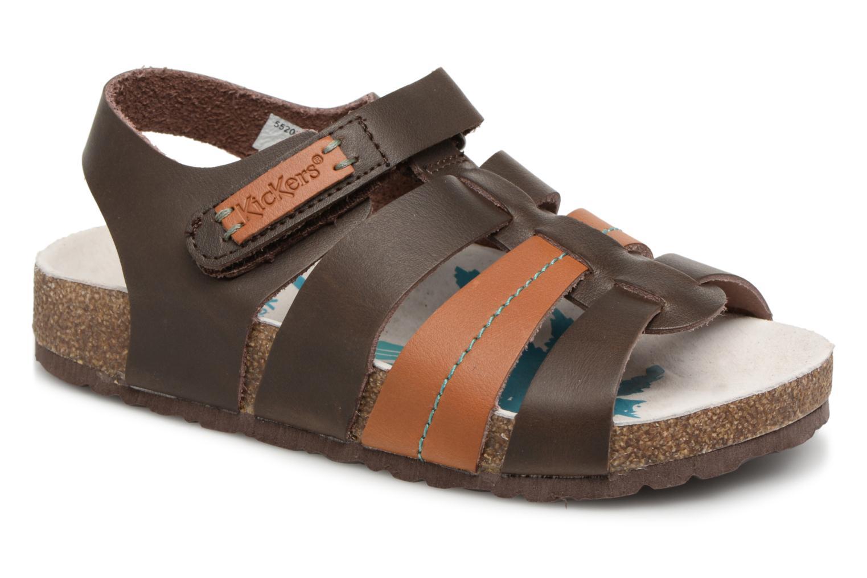Sandalen Kickers Magiteam braun detaillierte ansicht/modell