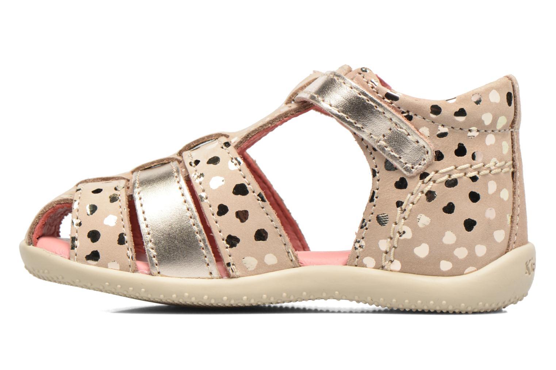 Sandales et nu-pieds Kickers Bodelere Beige vue face