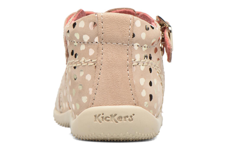 Sandales et nu-pieds Kickers Bodelere Beige vue droite