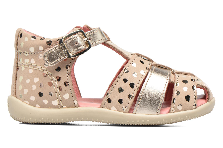 Sandales et nu-pieds Kickers Bodelere Beige vue derrière
