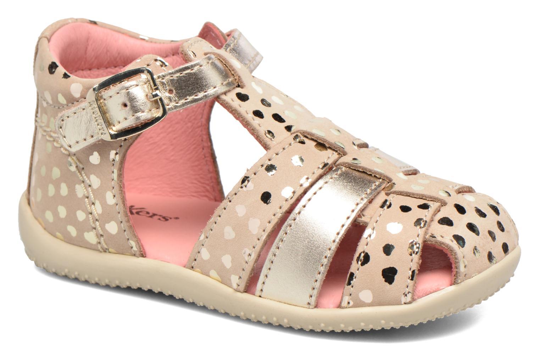 Sandales et nu-pieds Kickers Bodelere Beige vue détail/paire