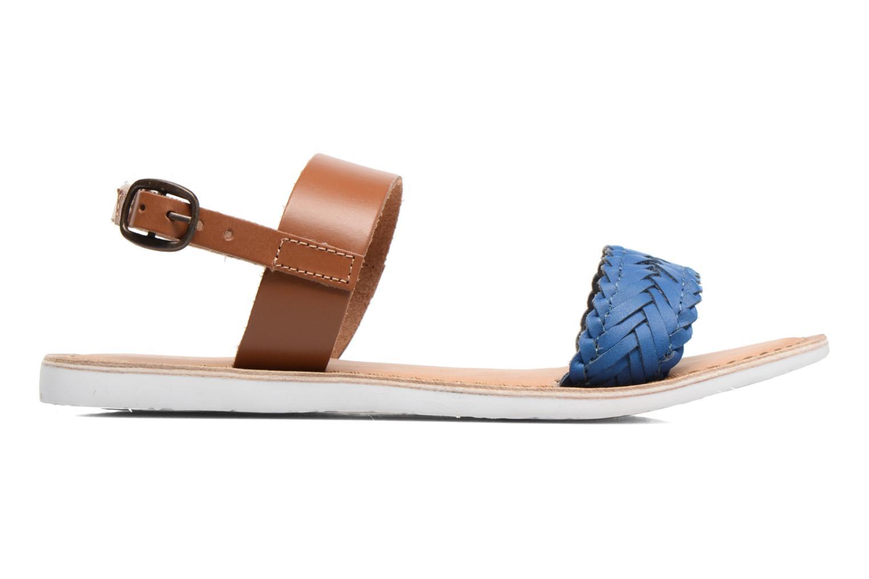 Sandales et nu-pieds Kickers Sporia Bleu vue derrière