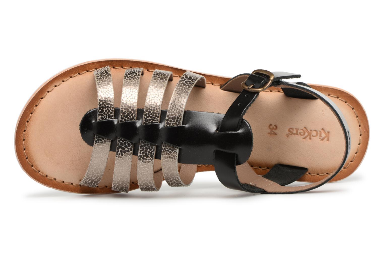 Sandali e scarpe aperte Kickers Sparta Nero immagine sinistra