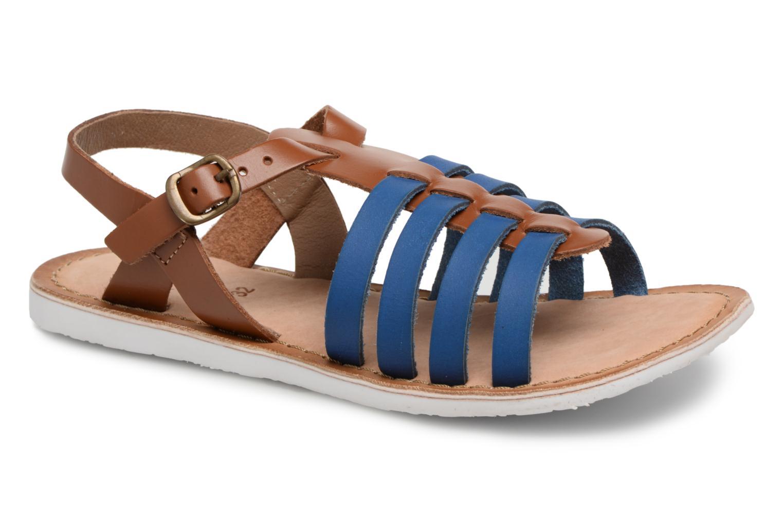 Sandaler Kickers Sparta Blå detaljeret billede af skoene