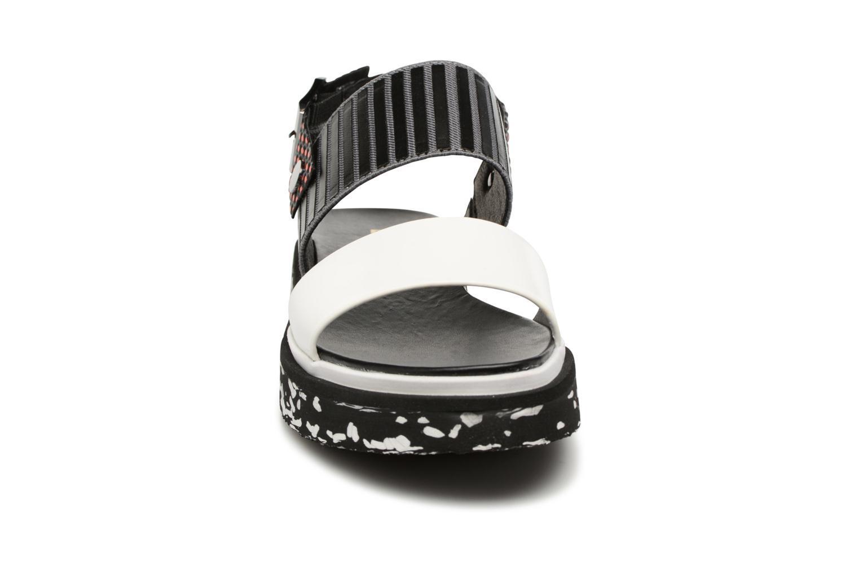 Sandales et nu-pieds United Nude Camo Multicolore vue portées chaussures