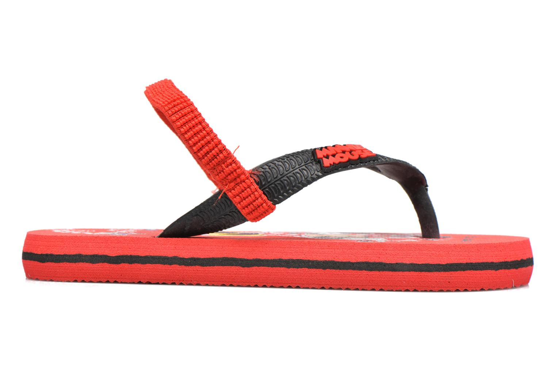 Flip flops Minnie Pipa Röd bild från baksidan