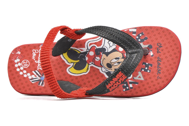 Slippers Minnie Pipa Rood links