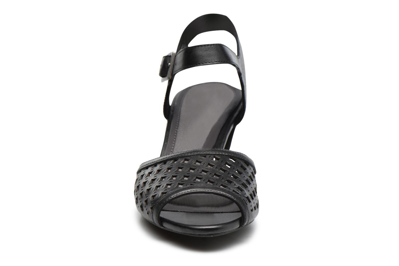 Sandales et nu-pieds Rockport Audrina Laser 2 Piece Noir vue portées chaussures