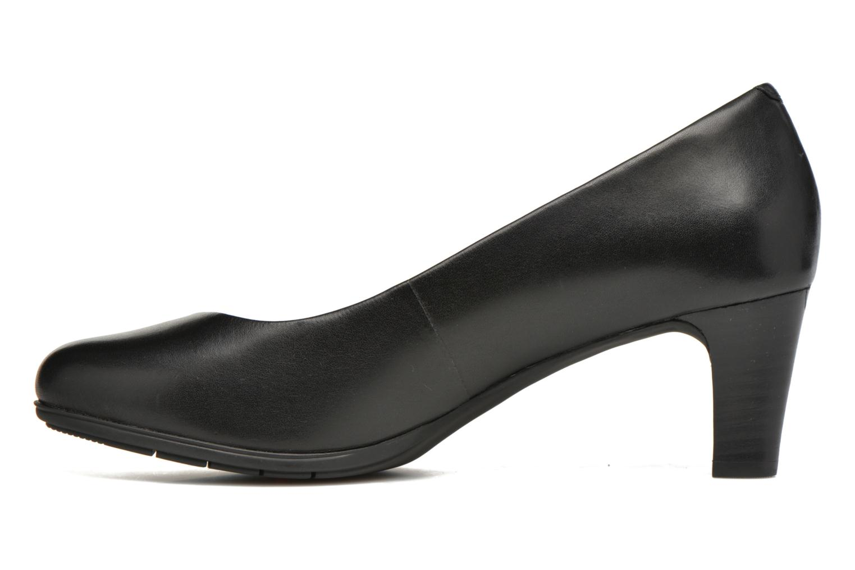 Zapatos de tacón Rockport Melora Plain Pump Negro vista de frente