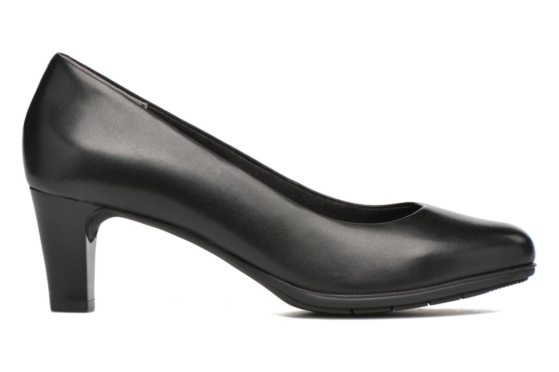 Zapatos de tacón Rockport Melora Plain Pump Negro vistra trasera