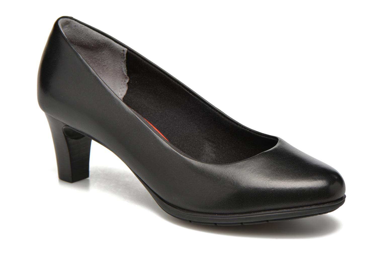 Høje hæle Rockport Melora Plain Pump Sort detaljeret billede af skoene
