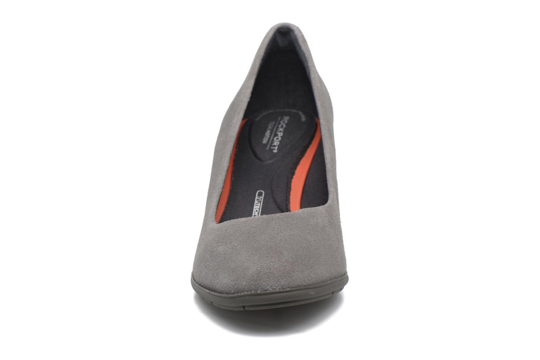 Escarpins Rockport Melora Plain Pump Gris vue portées chaussures
