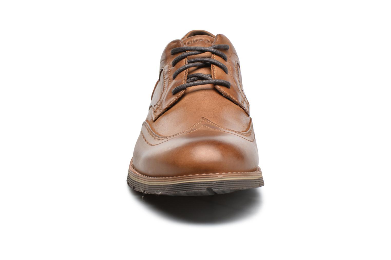 Chaussures à lacets Rockport Statford Wing Tip Marron vue portées chaussures