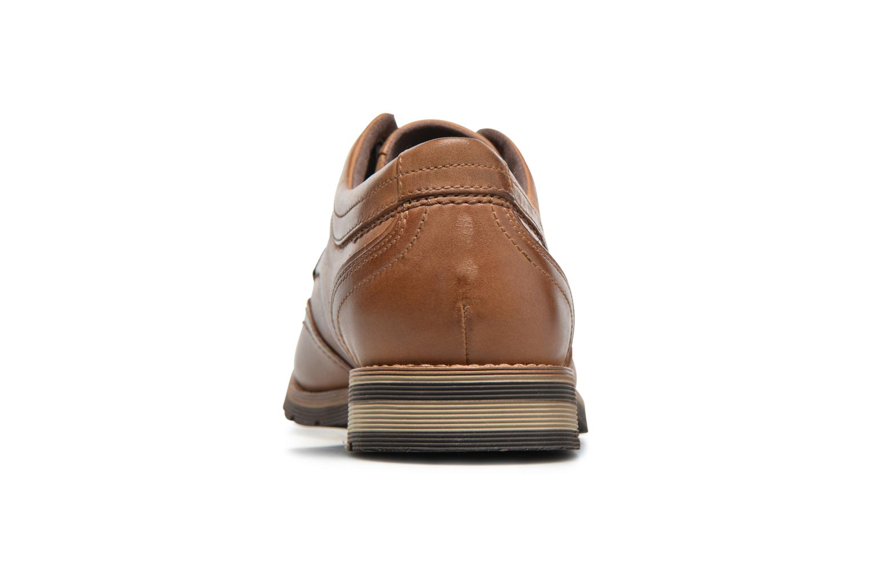 Chaussures à lacets Rockport Statford Wing Tip Marron vue droite