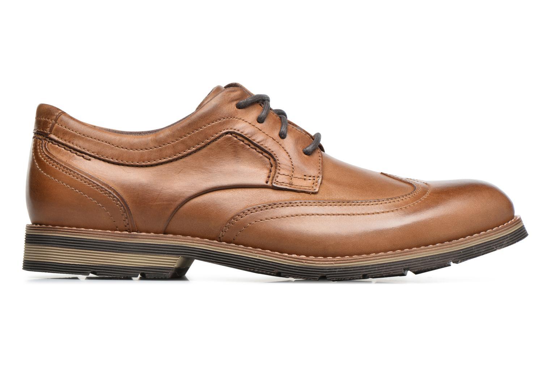 Chaussures à lacets Rockport Statford Wing Tip Marron vue derrière