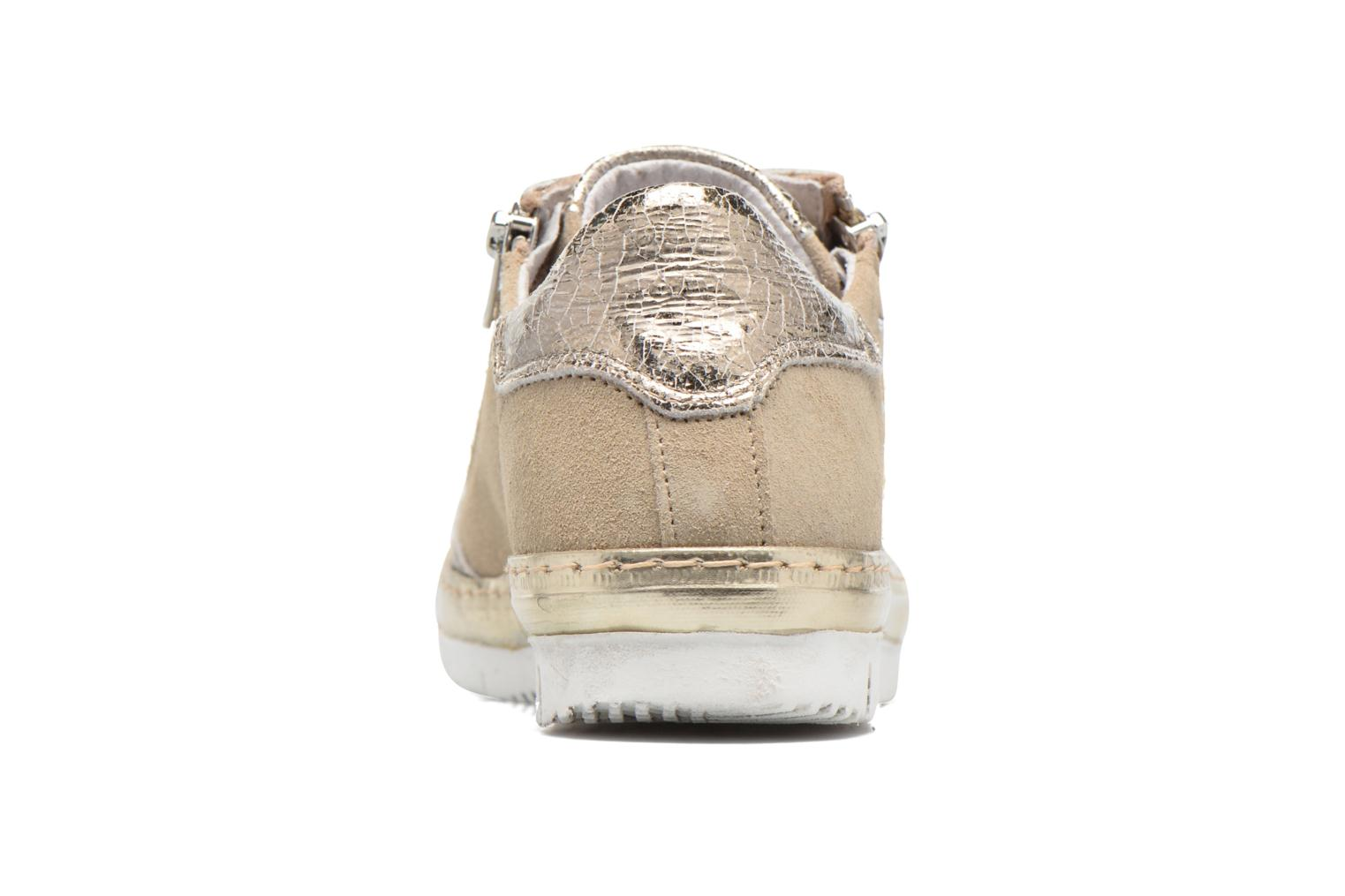 Trainers Khrio Cristal Beige view from the right