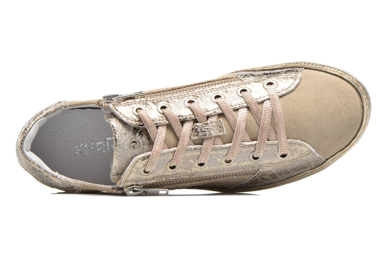 Trainers Khrio Cristal Beige view from the left