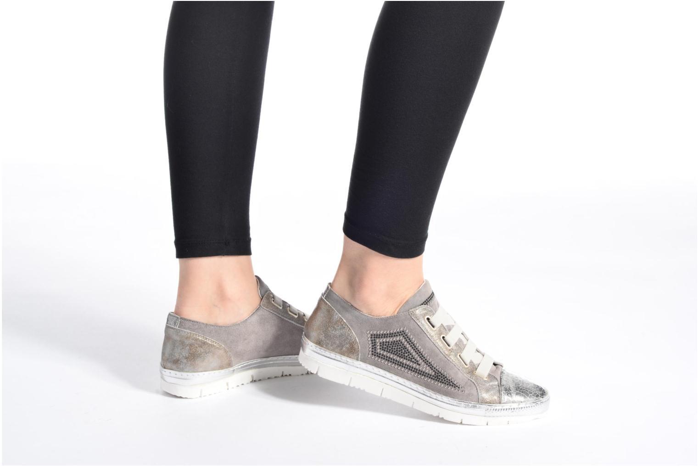 Sneakers Khrio Calcuta Beige immagine dal basso