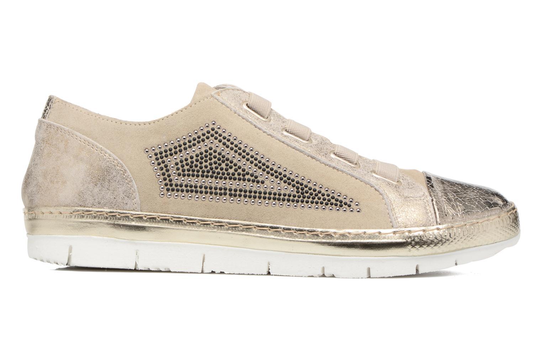 Sneakers Khrio Calcuta Beige achterkant