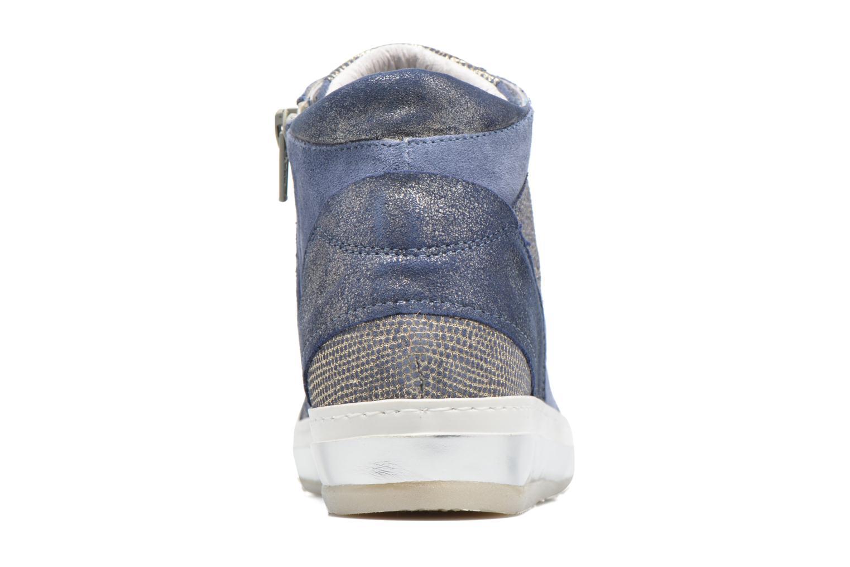 Sneaker Khrio Calista blau ansicht von rechts