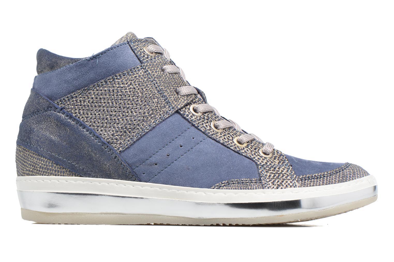 Sneaker Khrio Calista blau ansicht von hinten
