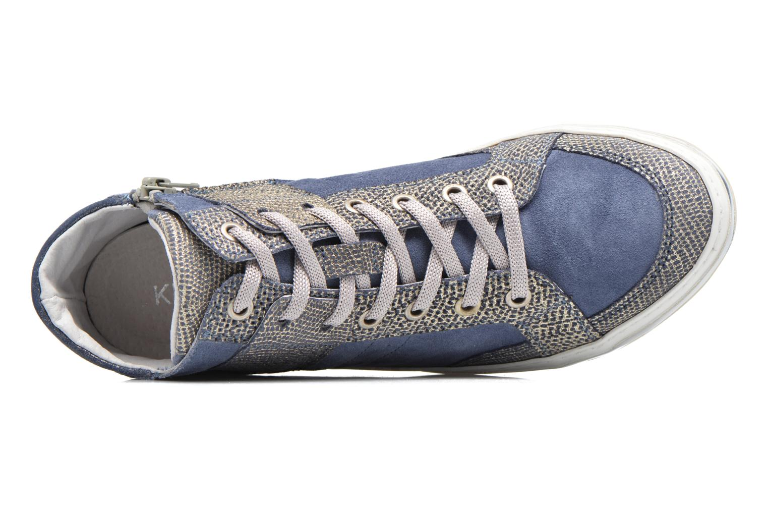Sneakers Khrio Calista Blauw links