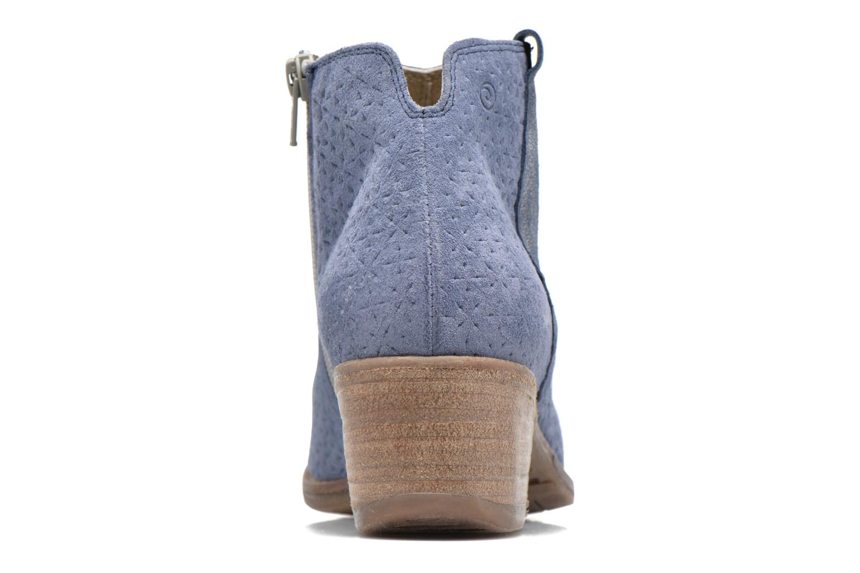 Bottines et boots Khrio Clarina Bleu vue droite