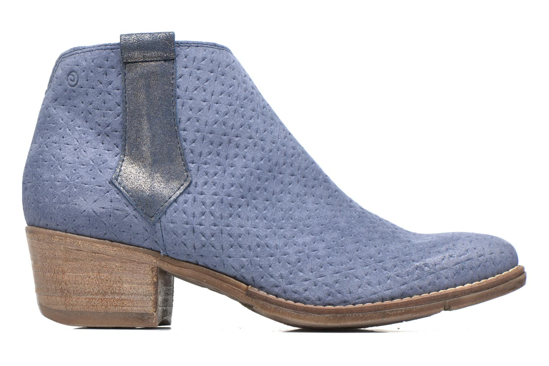 Bottines et boots Khrio Clarina Bleu vue derrière