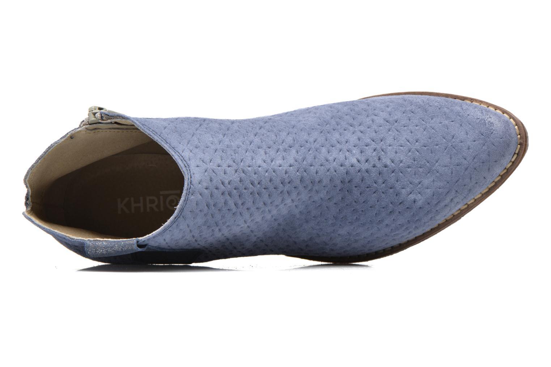 Bottines et boots Khrio Clarina Bleu vue gauche
