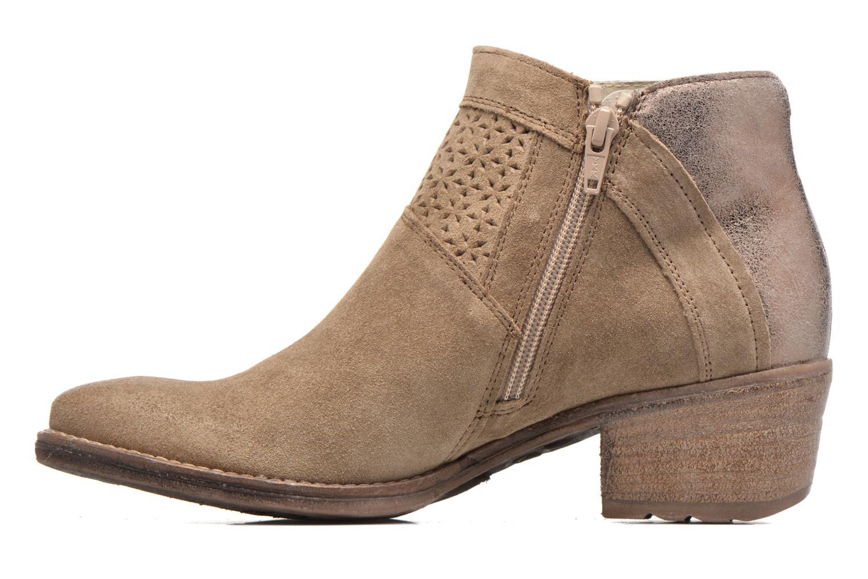 Bottines et boots Khrio Clemie Marron vue face