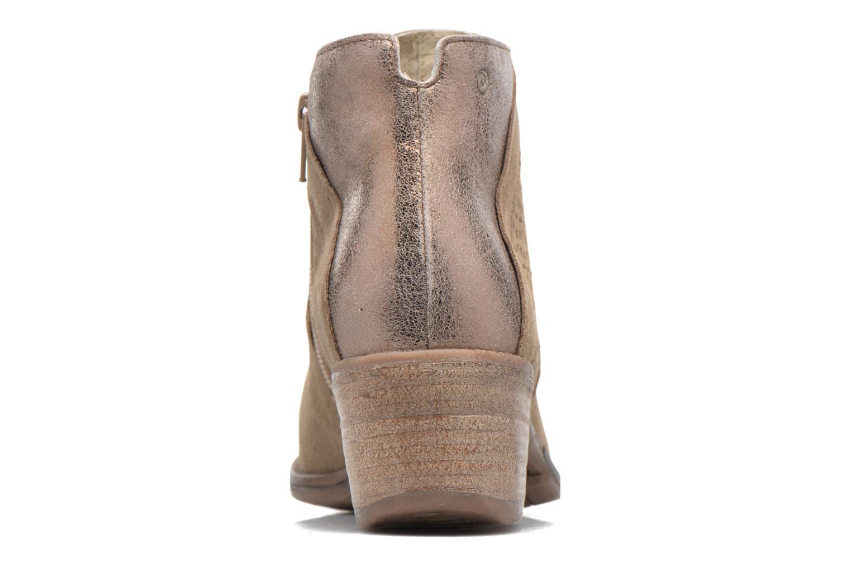 Bottines et boots Khrio Clemie Marron vue droite