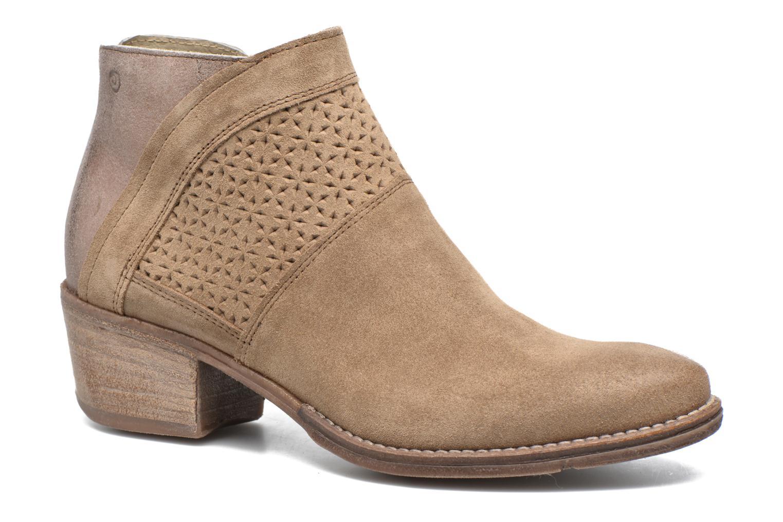 Bottines et boots Khrio Clemie Marron vue détail/paire