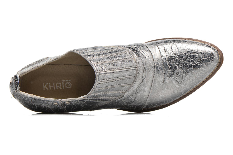 Bottines et boots Khrio Fanelie Argent vue gauche