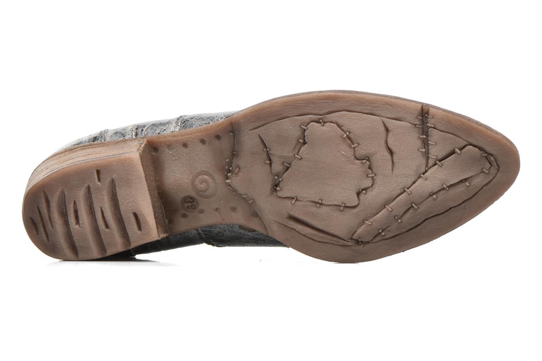 Bottines et boots Khrio Fanelie Argent vue haut