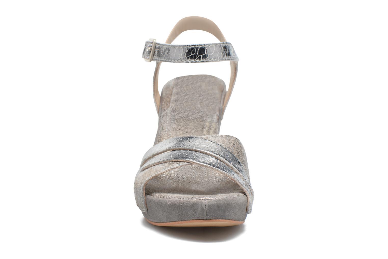 Sandales et nu-pieds Khrio Mia Argent vue portées chaussures