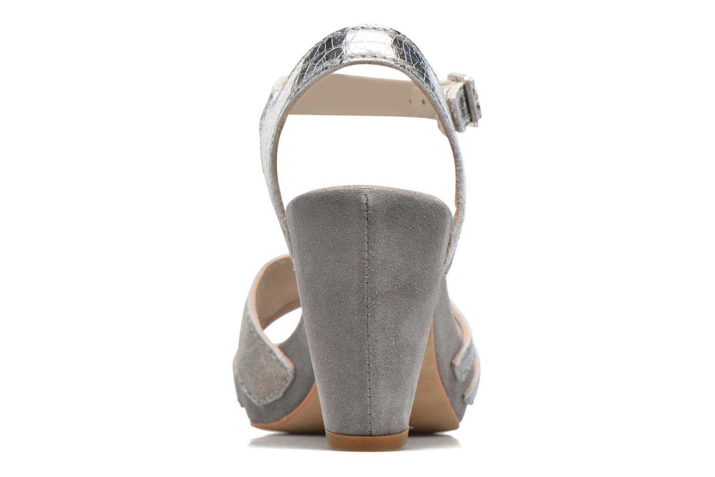 Sandales et nu-pieds Khrio Mia Argent vue droite