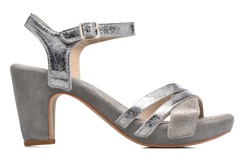 Sandales et nu-pieds Khrio Mia Argent vue derrière