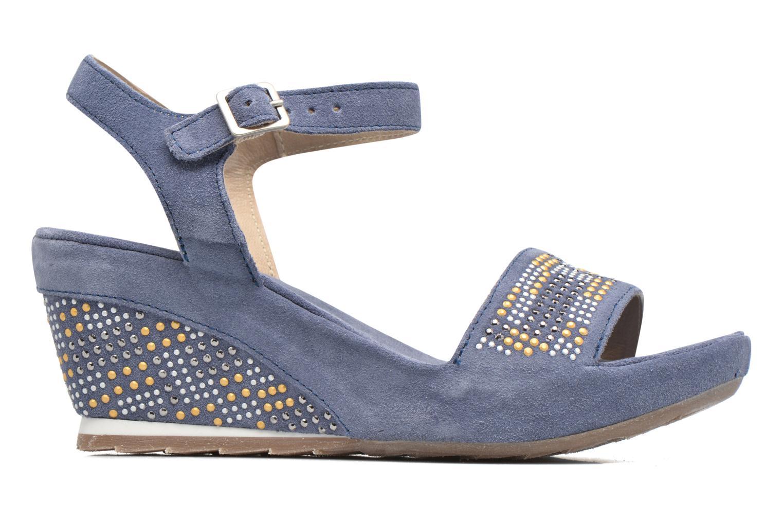 Sandales et nu-pieds Khrio Missy Bleu vue derrière