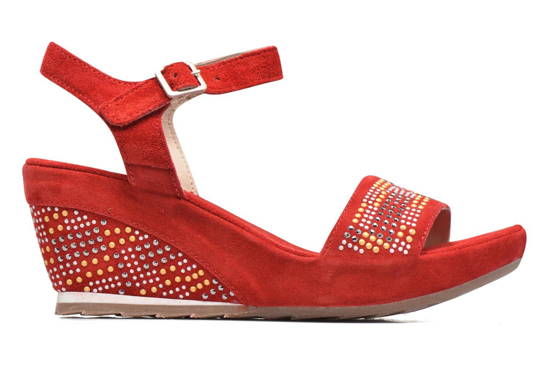 Sandales et nu-pieds Khrio Missy Rouge vue derrière