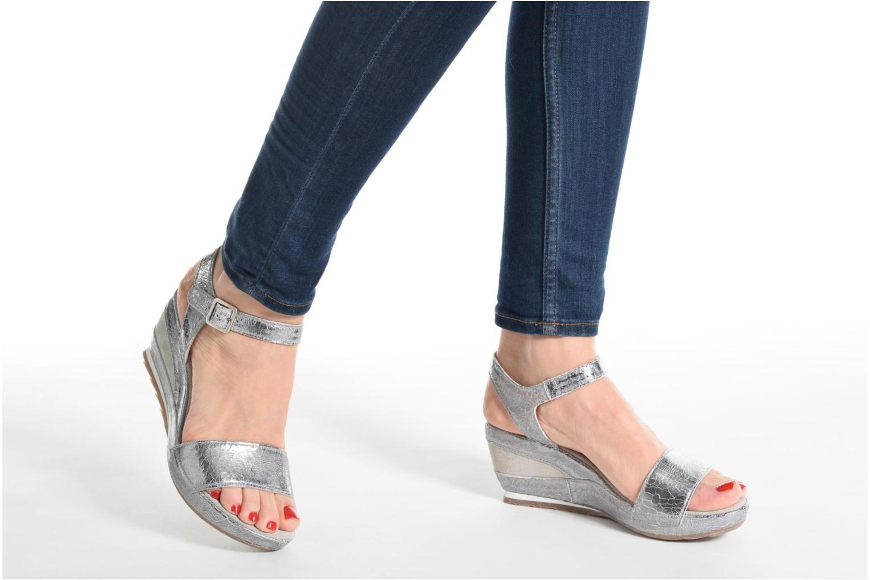 Sandali e scarpe aperte Khrio Tahia Argento immagine dal basso