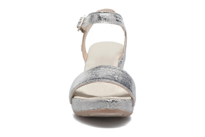 Sandali e scarpe aperte Khrio Tahia Argento modello indossato