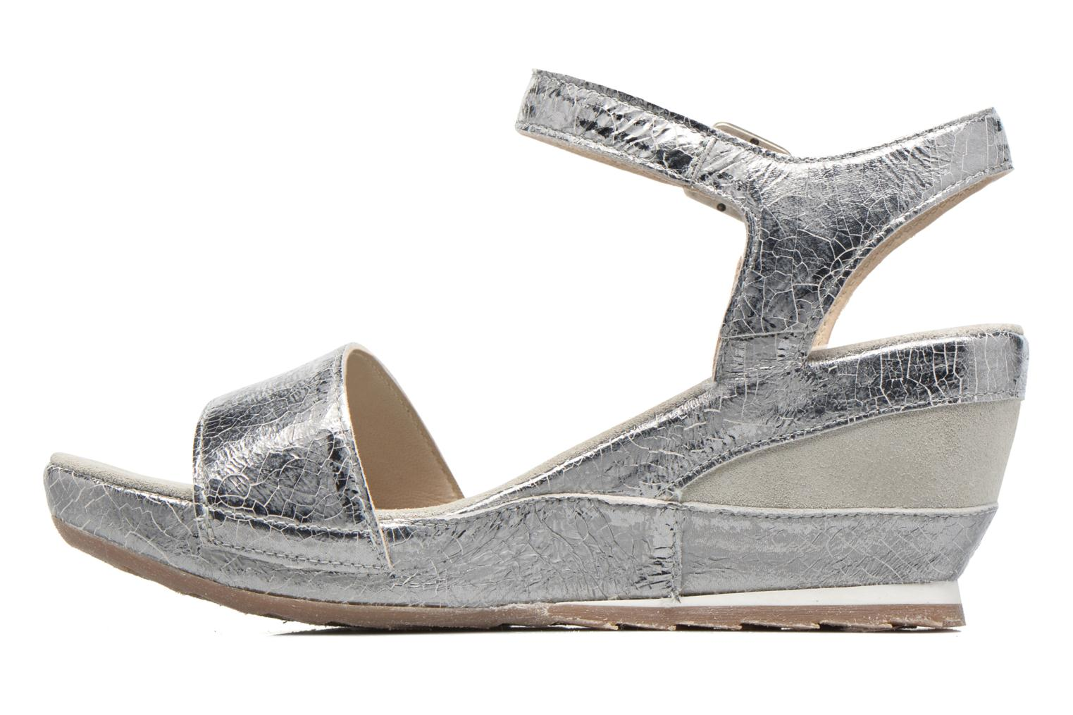 Sandals Khrio Tahia Silver front view