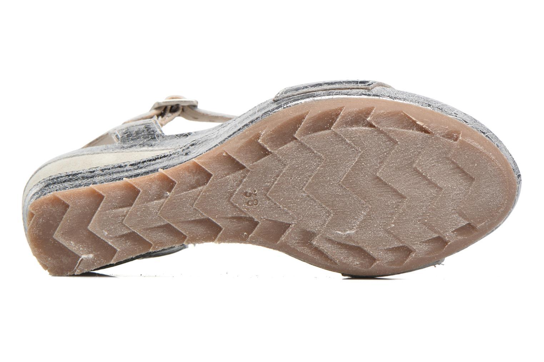 Sandali e scarpe aperte Khrio Tahia Argento immagine dall'alto