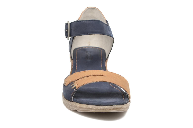 Sandales et nu-pieds Khrio Candella Bleu vue portées chaussures